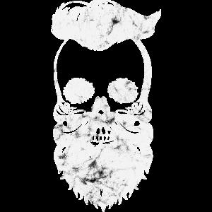 verwaschener Totenschädel