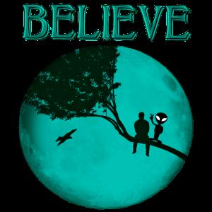 Believe Alien Moon