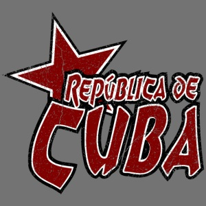 Republica de Cuba with an asterisk (oldstyle)