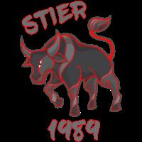 Sternzeichen Stier Jahr 1989 Horoskop Fun Geschenk