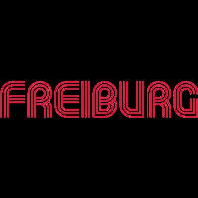 Freiburg 70er Schrift Lounge  - Freiburg Schriftzug im Seventies-Style Motiv als T-Shirt oder für andere Produkte. Farbe für Shirt und Druck frei wählbar. - seventies,retro,print,druck,design,Stadt,Schriftzug,Schrift,Freiburg,70er