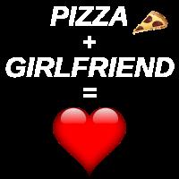 Pizza - Freund - Geschenk - Freundin