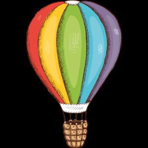 Heißluftballon