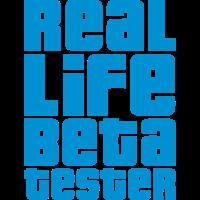 Real Life Beta Tester (Vektor)