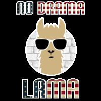 No Drama Lama USA Flagge