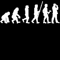 Evolution zum Spionen T-Shirt Geschenk Detektiv