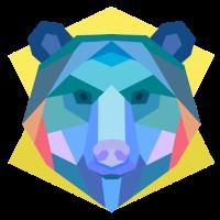 bear bären shirt abstrakte geschenkidee börse