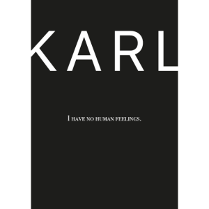 Karl Zitat - I have no human feelings