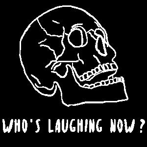 Laughing Now Totenkopf Totenschädel Geschenk