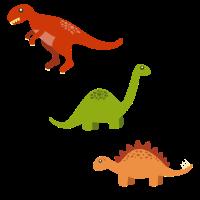 Drei Dinosaurier