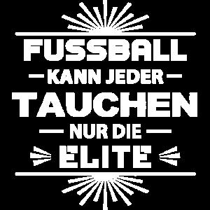 Tauchen Taucher Elite Fussball Stolz Geschenk