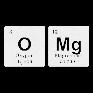 OMG chemische Elemente Chemie Shirt Geschenk
