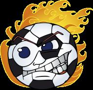 Fan-Shirt: HOT Soccer - ball