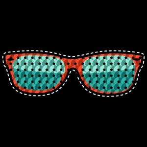 Sonnenbrille Pailletten 11821753