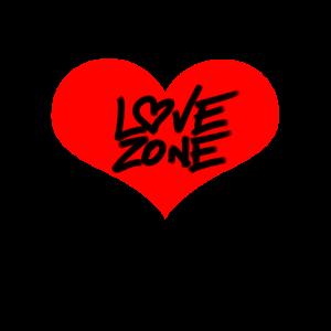 Love Zone mit Herz