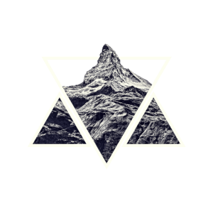 Stylized Geometric Mountain