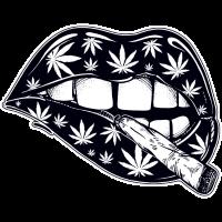 Cannabis Lippen
