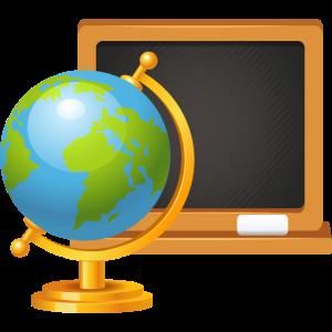 Globus und Panel