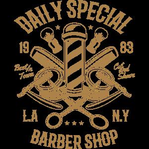 Täglich spezieller Barbierladen