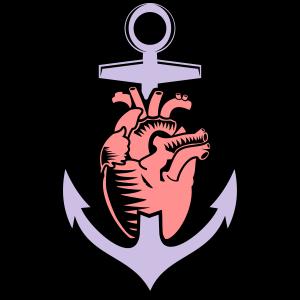 Herz Anker