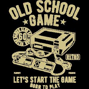 oldschool Spiel