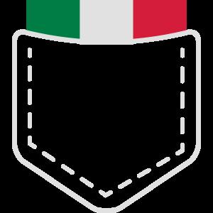 Italia Italy Italien Flagge Wappen Geschenk Idee