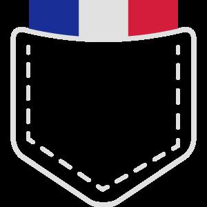 France Frankreich Wappen Flagge Land Geschenk Idee