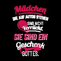 Frauen Tuning T Shirt Geschenk Lustig Autoliebe
