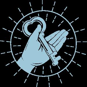 Schlüsselherz