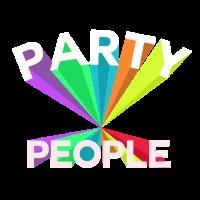 Party People Feiern die ganze Nacht