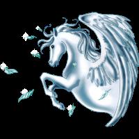 (Remake) Pegasus mit Federn