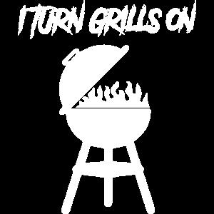 Ich schalte Grills an