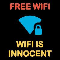 Free Wifi WiFi ist unschuldig