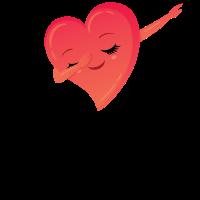 Dabbing Heart - Dab Dance Love