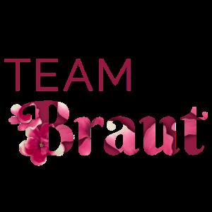 Team Braut - blumig