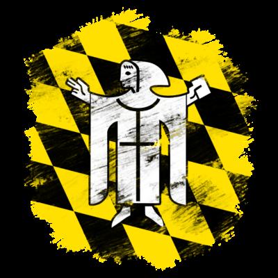 München - Wappen der Stadt München ohne Titel - Wappen,München,Bayern