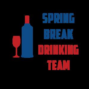 SPRING BREAK DRINKING TEAM GESCHENK