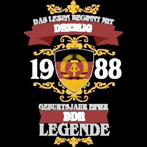 DDR LEGENDE - 30 - 1988