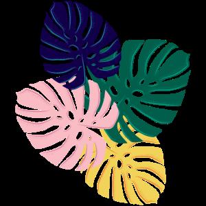 tropisches Blattdesign