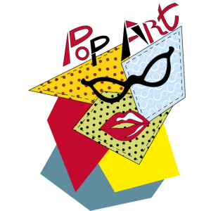 Pop Art Brille 2