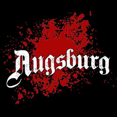 Augsburg - Augsburg - Geschenk für alle Augsburger - tourist,tourismus,splatter,splash,klecks,geschenk,farbklecks,Stadt,Splash,Lieblingssatdt,Heimatstadt,Heimat,Deutschland,Bayern,Augsburg