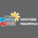Philippinen-Blog Logo english schwarz/weiss