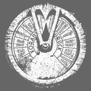 Maschinentelegraph (à l'ancienne blanc)
