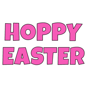 Hoppy Easter pink