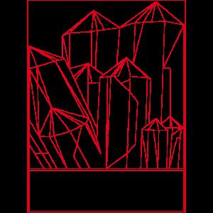 Kristall Rot