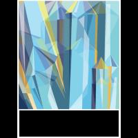 Kristall Farbig