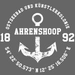 Ostseebad und Künstlerkolonie Ahrenshoop, weiss