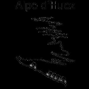 Alpe d Huez schwarz