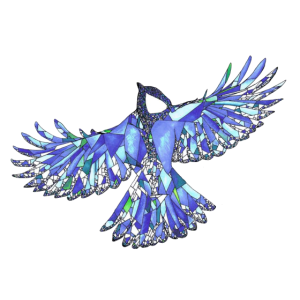 MosaikMaise Blau