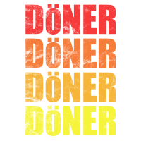 Fastfood Döner Design - in coolem Used Look